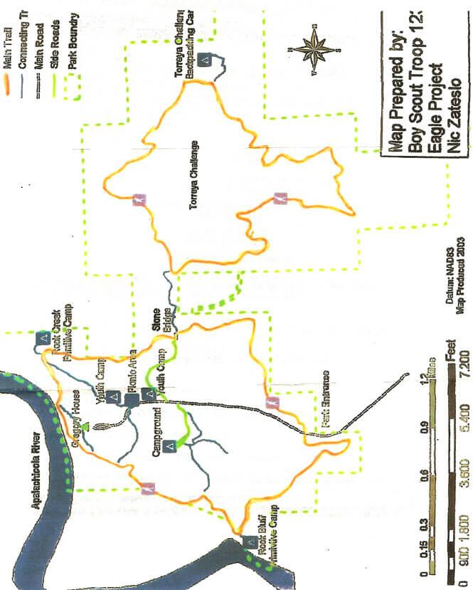 Gregory House Loop Hiking Map