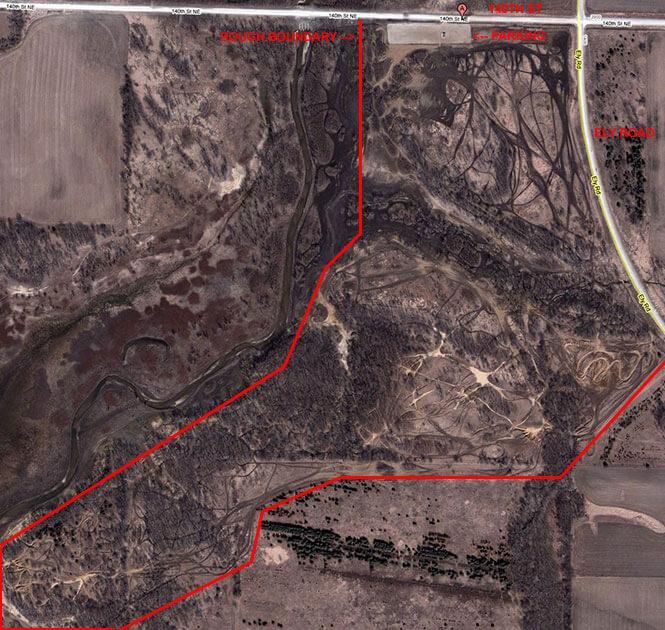 Lakeview OHV Park ATV Trails Map
