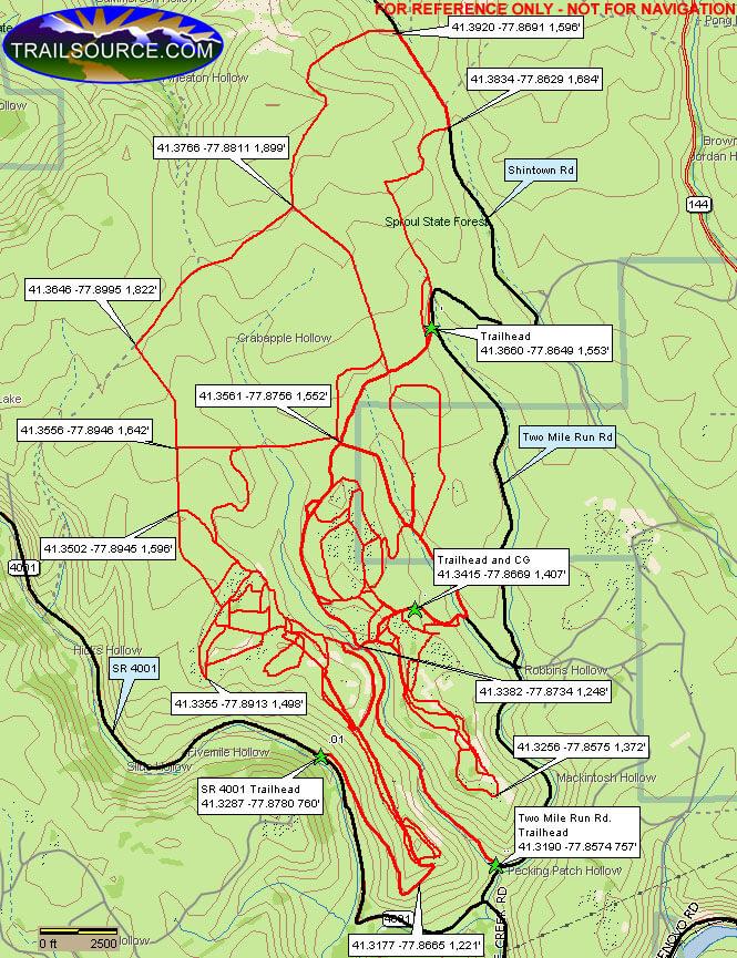 Clinton County ATV Trail ATV Trails Map