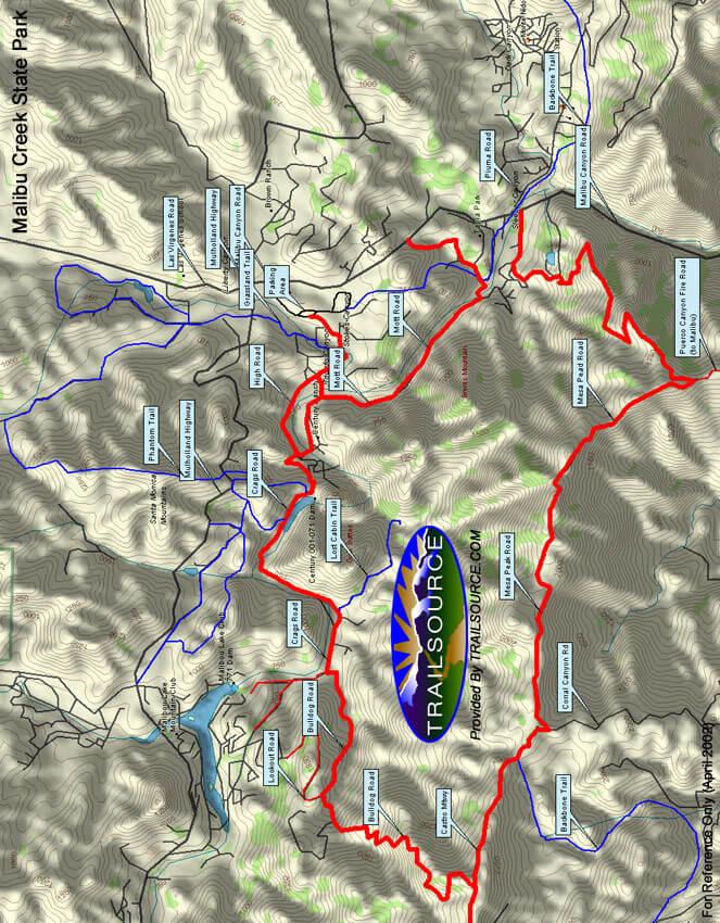 Bridle Trails Horseback Riding Map