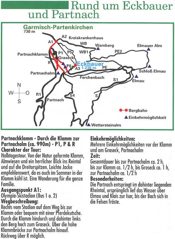 Rund um den Eckbauer Hiking Map