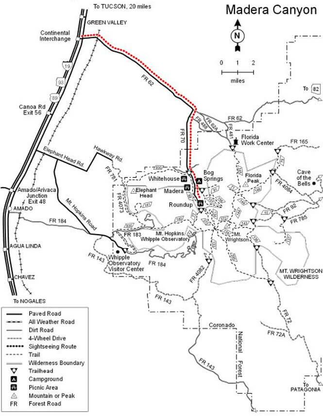Madera Nature Trail Horseback Riding Map