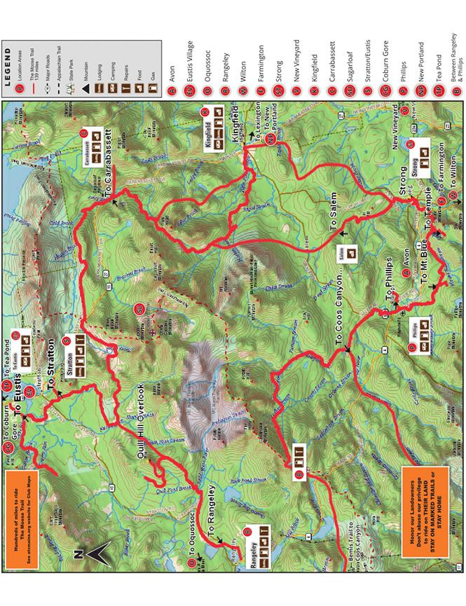 Little Moose Trail ATV Trails Map