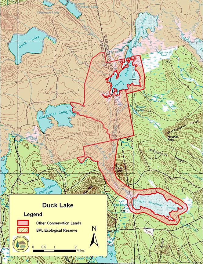 Duck Lake Trail ATV Trails Map