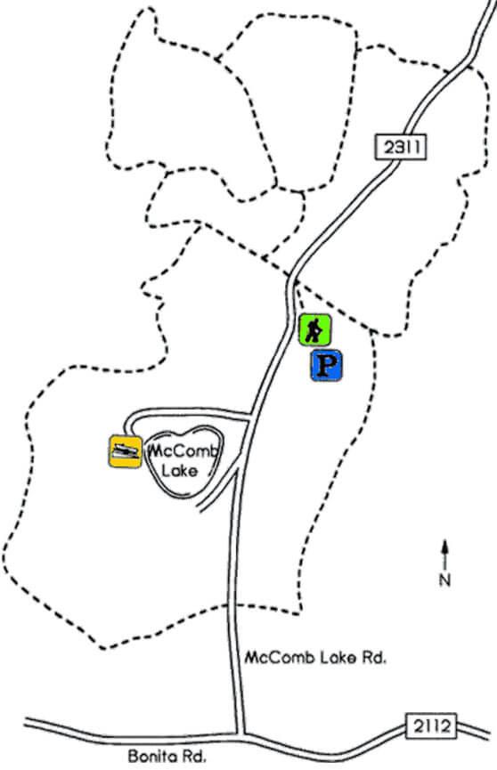 Nicolet Nordic Ski Trail Cross Country Skiing Map