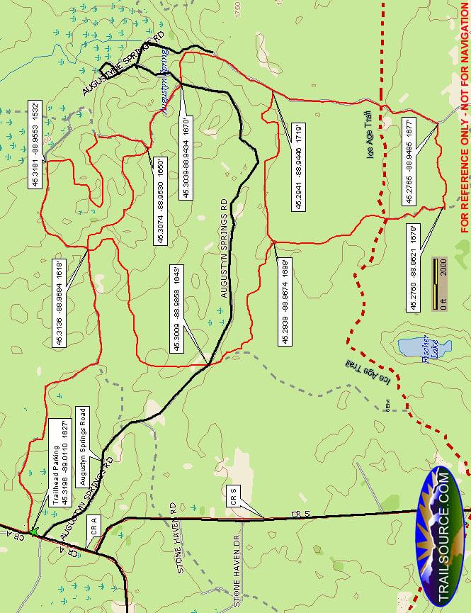Augustyn Spring ATV Trail ATV Trails Map