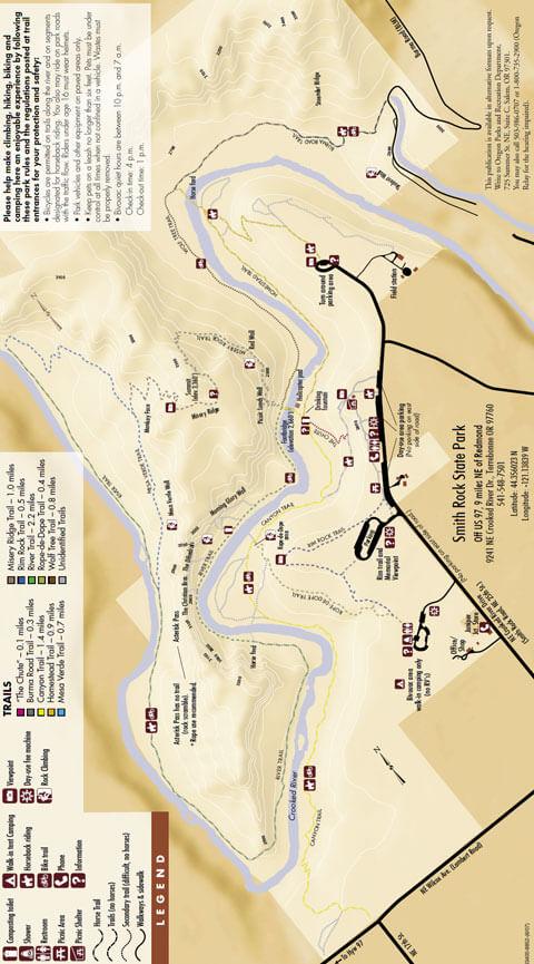 Perimeter Trail Hiking Map