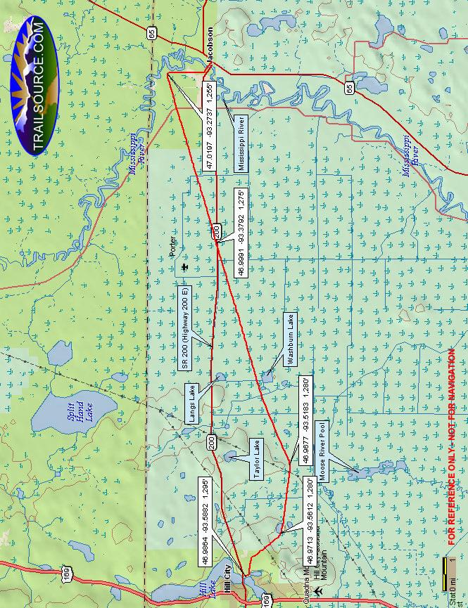 Rabey Line ATV Trail ATV Trails Map