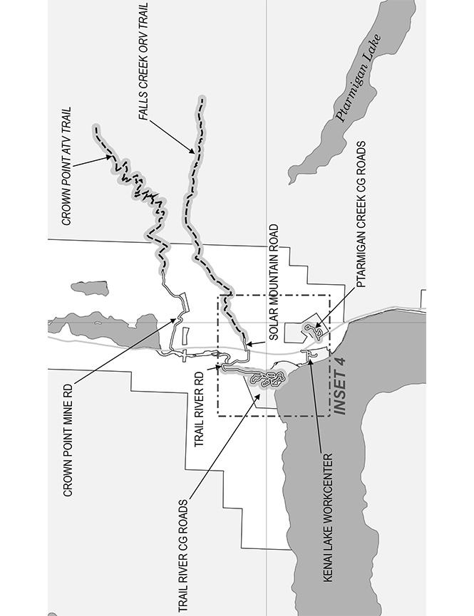 Crown Point Mine ATV Trails Map
