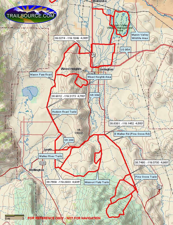 Mason Pass Road ATV Trails Map