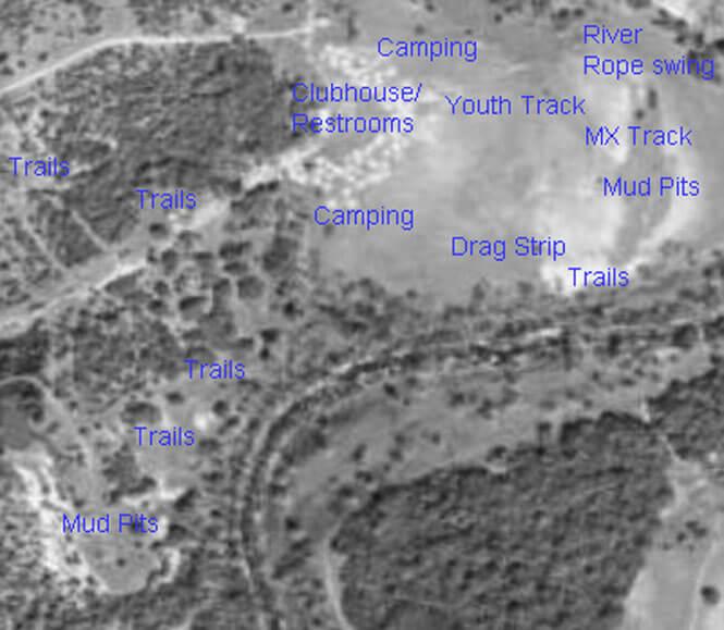 Mud Buddys ATV Park ATV Trails Map