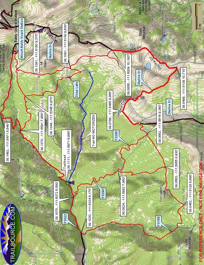 Pinchot ATV Trail ATV Trails Map