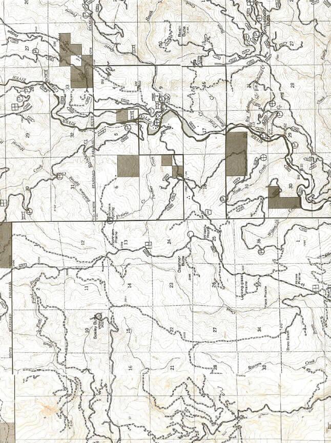 Chetco Gorge Trail Dirt Biking Map