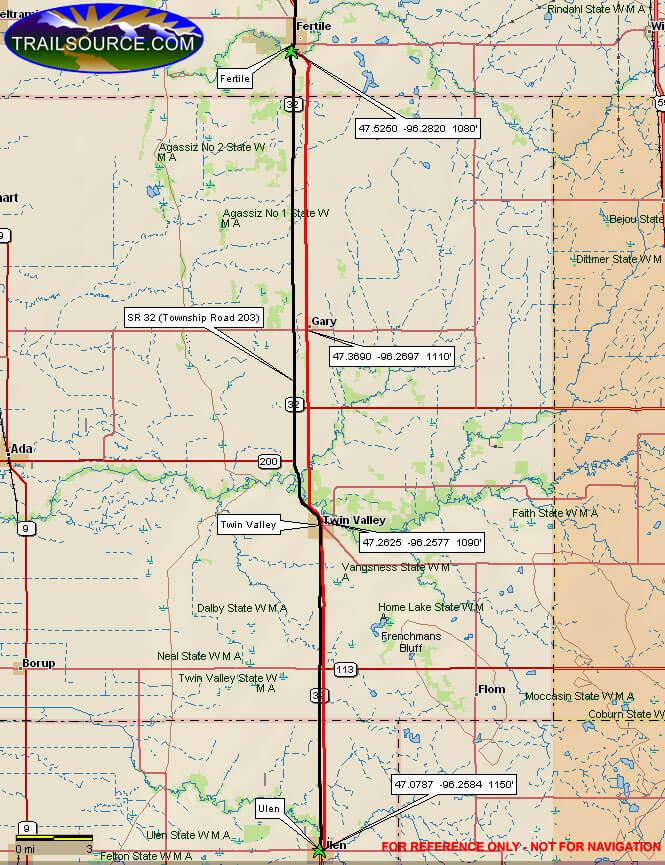 Agassiz Recreation Trails Hiking Map