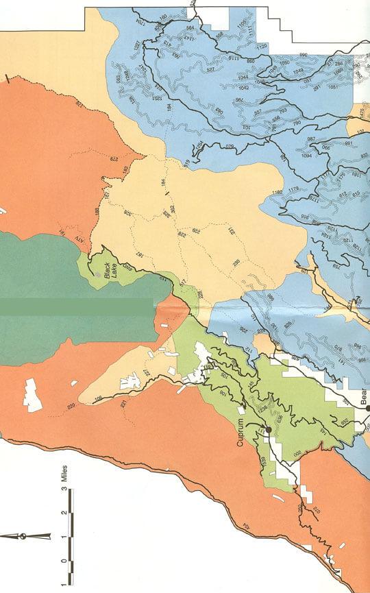 Bear Area Dirt Biking Map