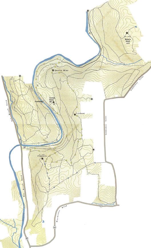 Hidden Valley Reservation Horseback Riding Map