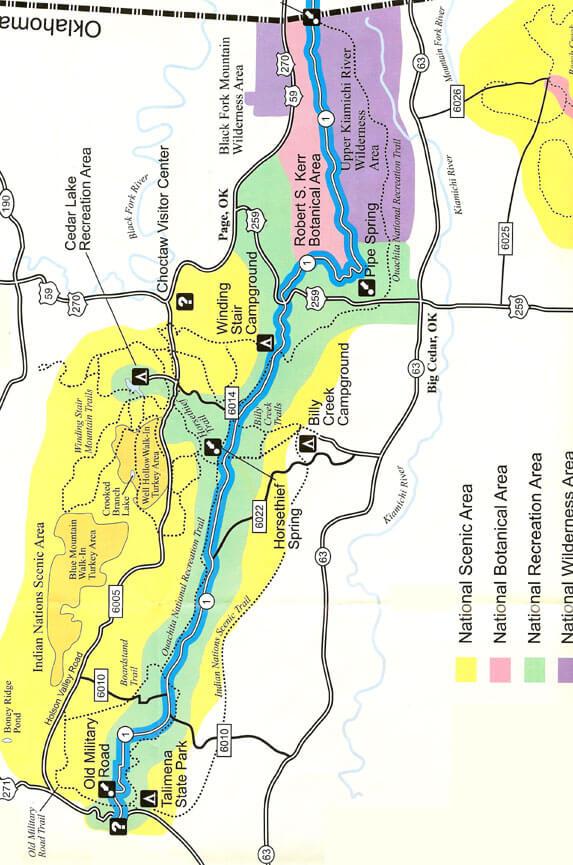 Boardstand Trail Mountain Biking Map