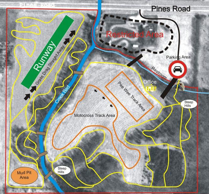 Ki Tracks Dirt Biking Map