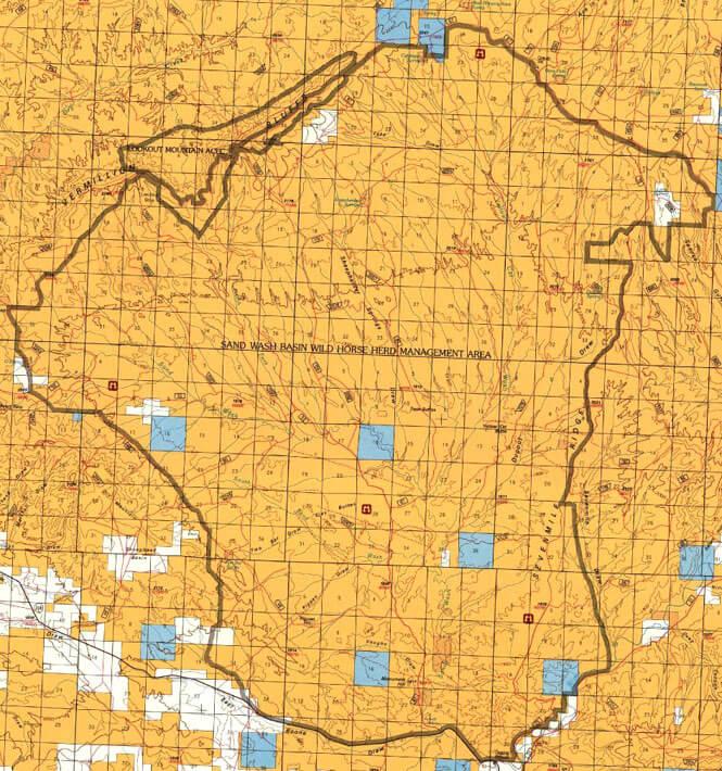 Sevenmile Ridge ORV Dirt Biking Map