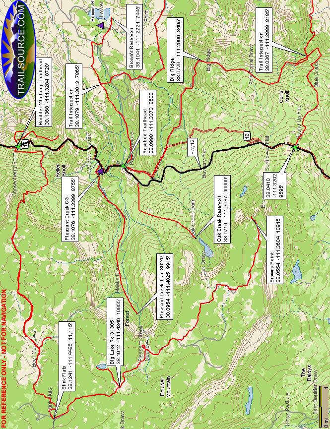 Rosebud ATV Trail ATV Trails Map