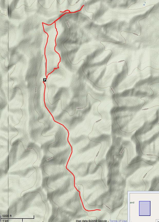 Beaver Creek ATV Staging Area ATV Trails Map