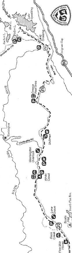 Pioneer Trail Mountain Biking Map