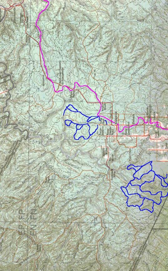 St. Quentin - Kedgwick ATV Trails Map