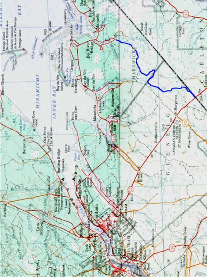 Baie - Pointe ATV Trails Map