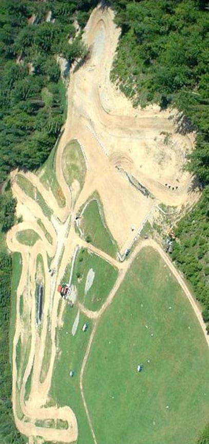 Valley Motorsports Park Dirt Biking Map