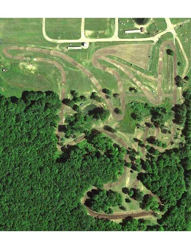 Cohocton Motocross Dirt Biking Map