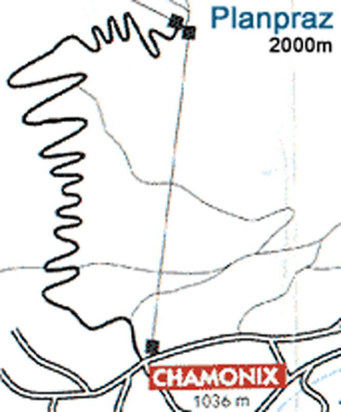 Petit Balcon Sud Hiking Map