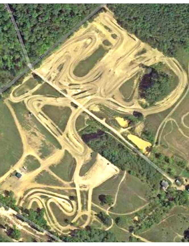 Rocket Raceway Dirt Biking Map