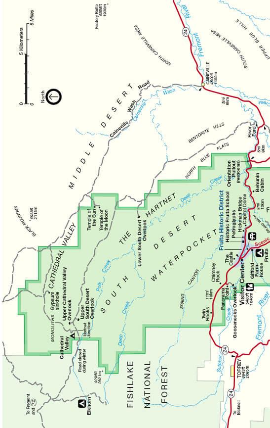 Hartnet Road OHV Driving Map