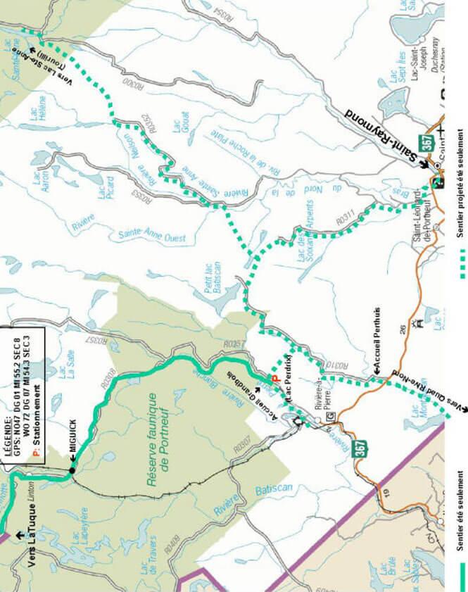 Club Quad Nature - North ATV Trails Map