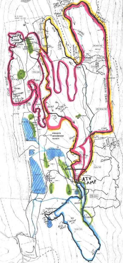 MotoCove ATV Trails Map