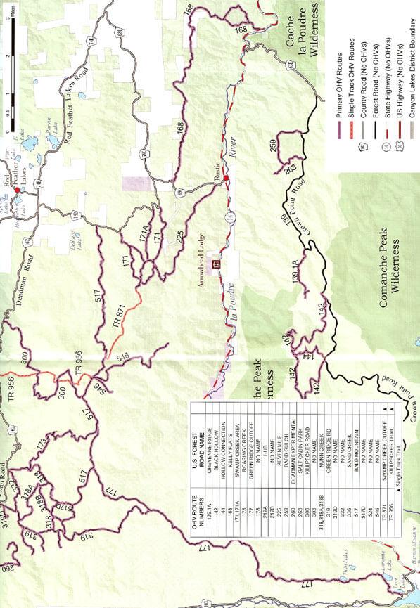 Green Ridge Dirt Biking Map