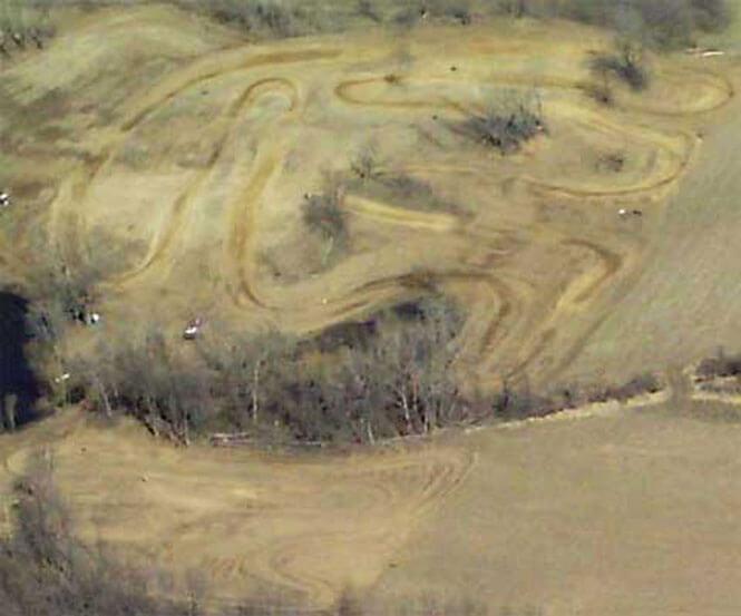Savannah Motocross Park Dirt Biking Map