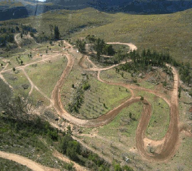 K Mountain Track ATV Trails Map