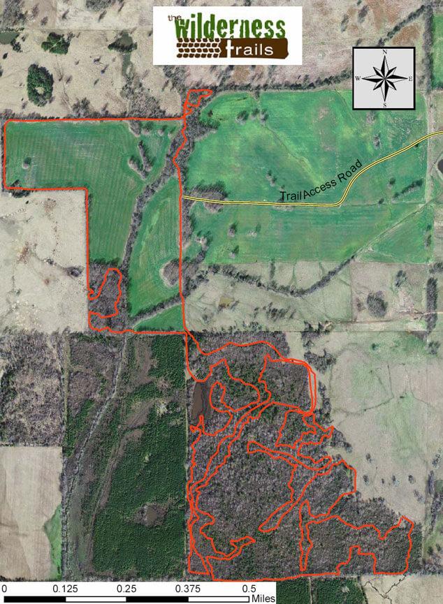 Wilderness Trails Riding Park Dirt Biking Map