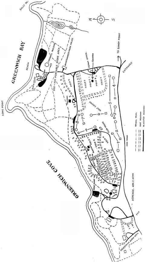 Goddard Memorial State Park Hiking Map