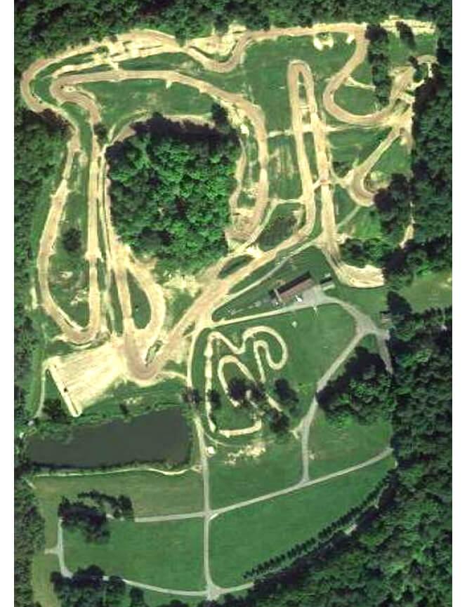Hogback Hill Motocross Dirt Biking Map