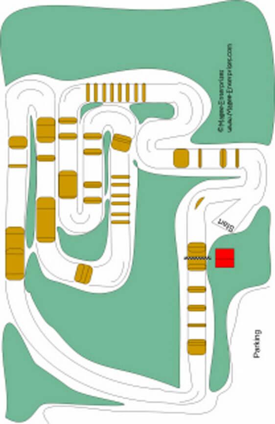 JB Motocross Dirt Biking Map