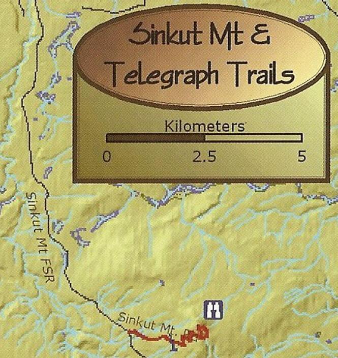 Sinkut Mountain ATV Trails Map