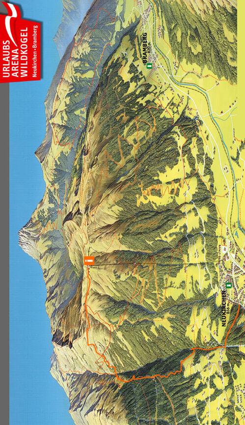 Rob-J-Supertrail Mountain Biking Map