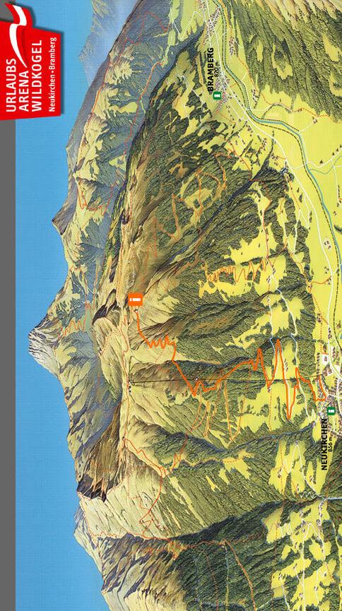 Neukirchen Singletrail Mountain Biking Map