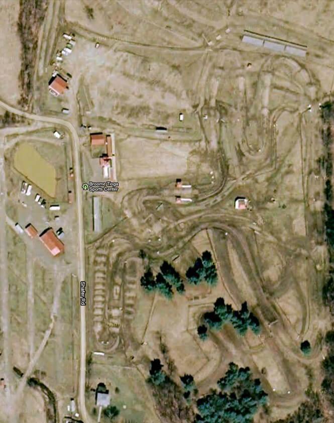 Broome-Tioga Sports Center ATV Trails Map