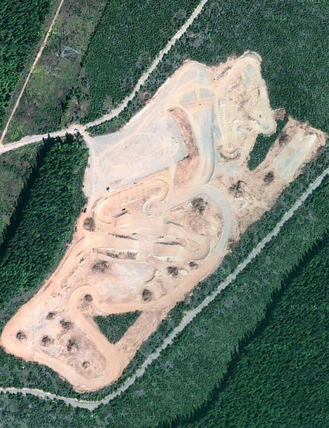 Terrace Motocross Park Dirt Biking Map