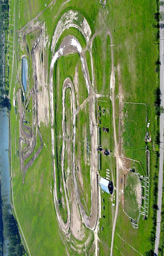 Whispering Pines Motocross Track Dirt Biking Map
