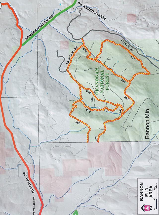 Bannon Mountain ATV Trails Map