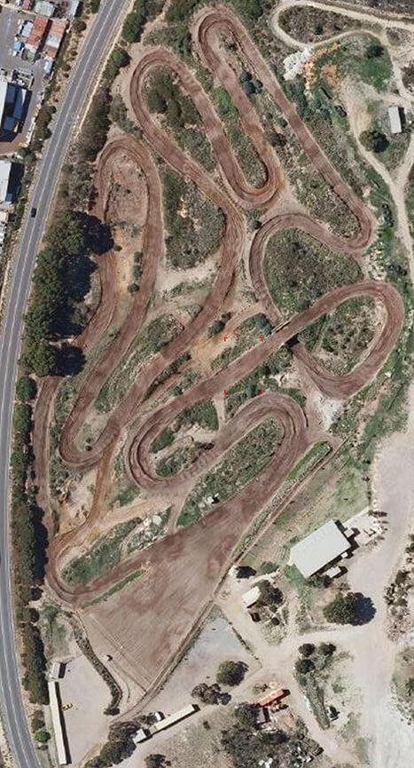 Coastal Park Motocross Track Dirt Biking Map